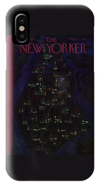 New Yorker December 23 1950 IPhone Case