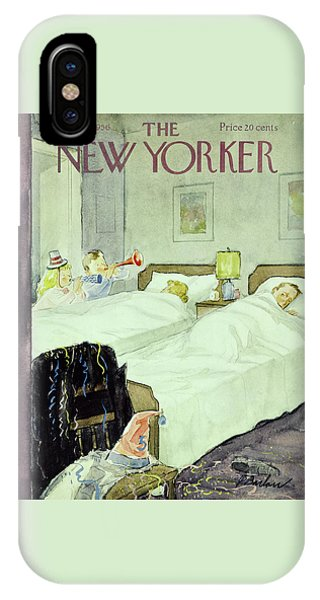 New Yorker December 29 1956painting IPhone Case