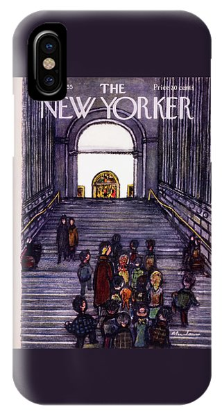 New Yorker December 3 1955 IPhone Case
