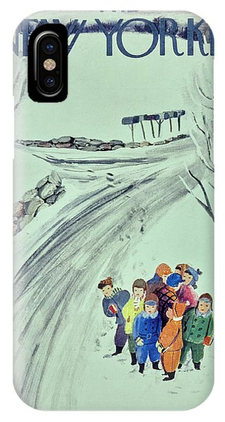 New Yorker February 1 1958 IPhone Case