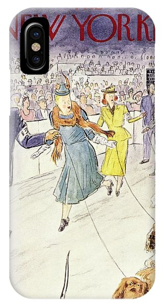 New Yorker February 12 1955 IPhone Case