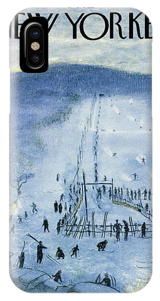 New Yorker February 18 1956 IPhone Case