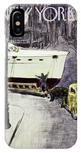 New Yorker January 14 1956 IPhone Case
