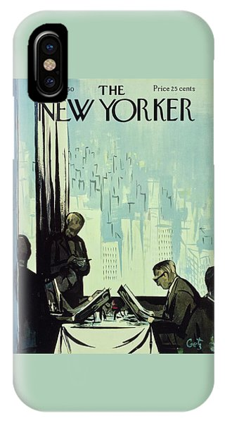 New Yorker January 16 1960 IPhone Case