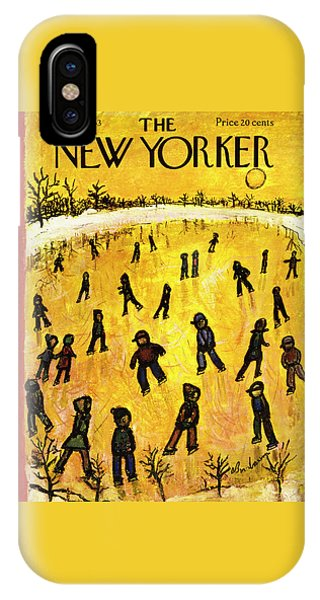 New Yorker January 17 1953 IPhone Case