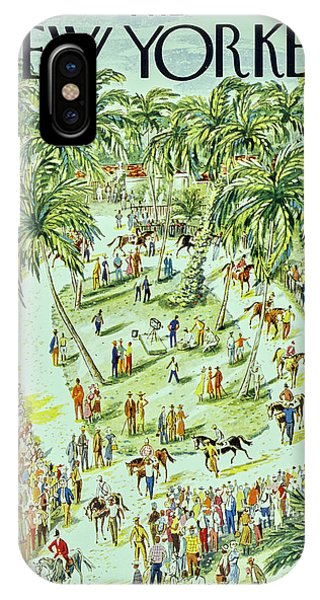 New Yorker January 18 1958 IPhone Case