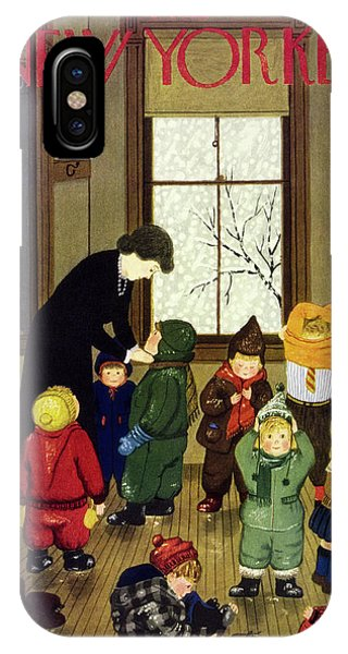 New Yorker January 21 1950 IPhone X Case