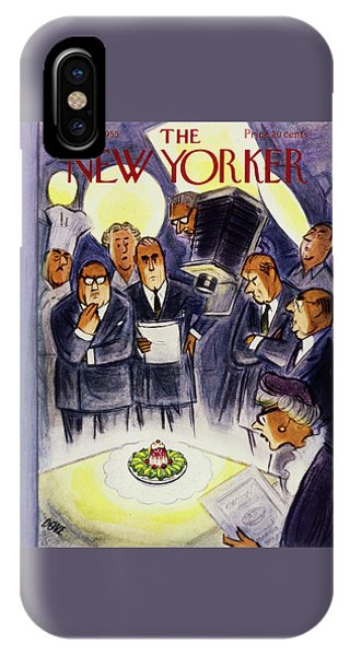 New Yorker January 29 1955 IPhone Case