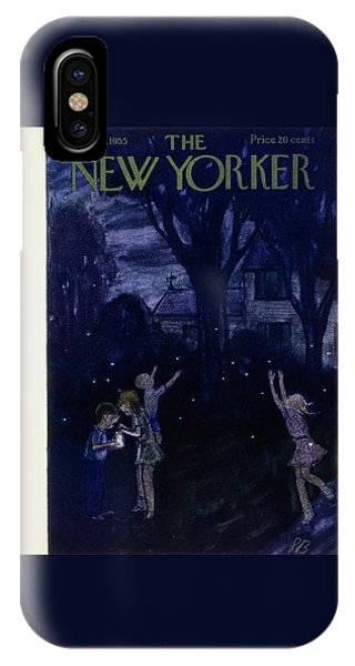 New Yorker July 30 1955 IPhone Case