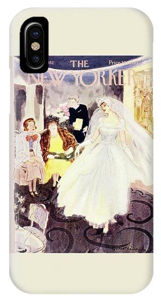 New Yorker June 21 1952 IPhone Case