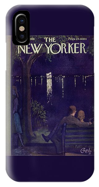 New Yorker June 28 1958 IPhone Case