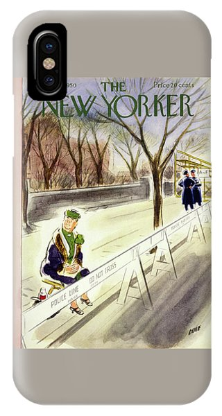 New Yorker March 18 1950 IPhone Case
