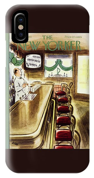 New Yorker March 19, 1955 IPhone Case