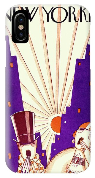 New Yorker March 6 1926 IPhone Case