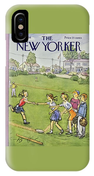 New Yorker May 10 1958 IPhone Case