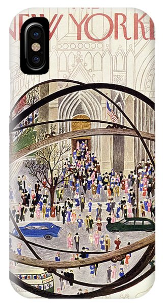 New Yorker May 12 1951 IPhone Case
