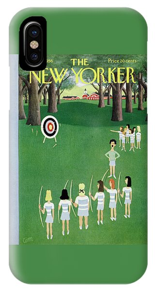 New Yorker May 12 1956 IPhone Case