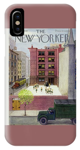 New Yorker May 14 1949 IPhone Case