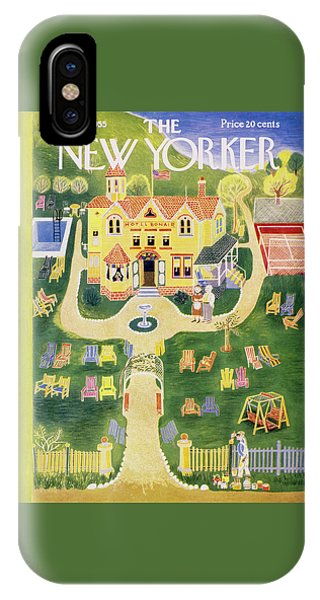 New Yorker May 21 1955 IPhone Case