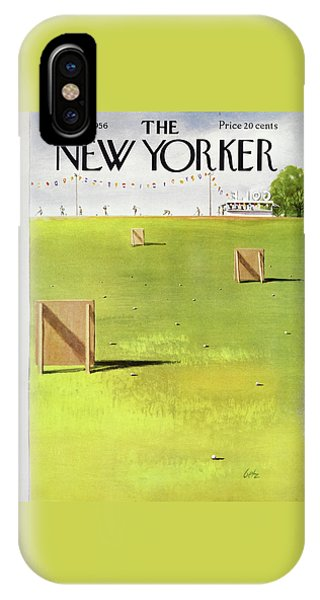 New Yorker May 26 1956 IPhone Case