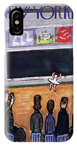New Yorker May 28 1955 IPhone Case