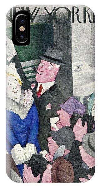 New Yorker November 1 1941 IPhone Case