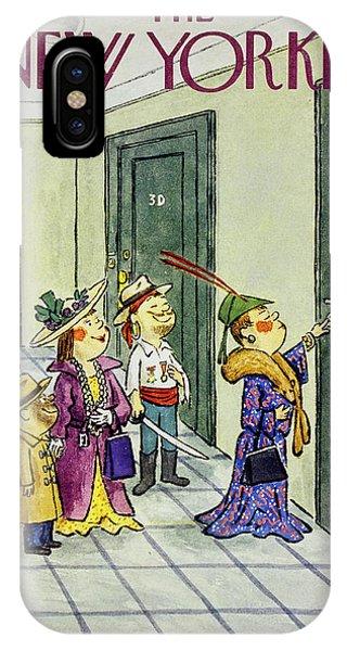 New Yorker November 1 1958 IPhone Case