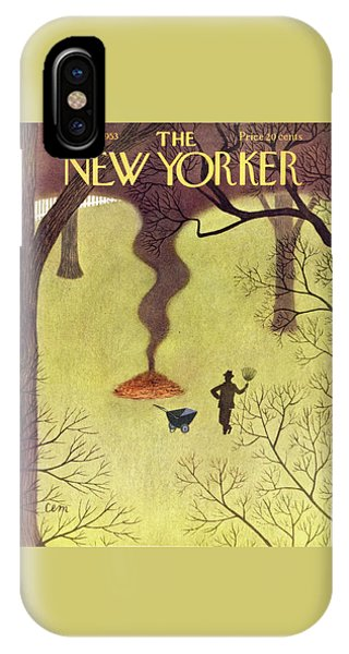 New Yorker November 14 1953 IPhone Case