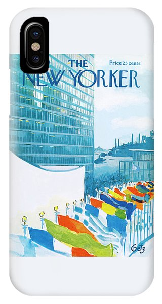 New Yorker November 14th, 1964 IPhone Case