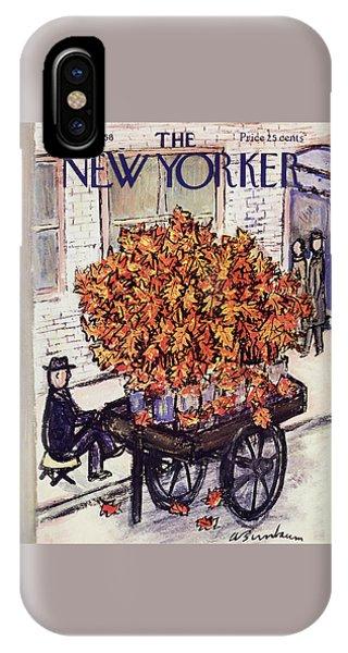 New Yorker November 8 1958 IPhone Case