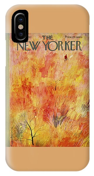 New Yorker October 12th 1957 IPhone Case