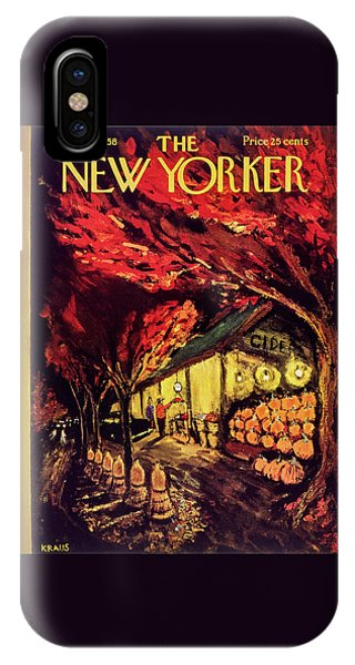 New Yorker October 18 1958 IPhone Case