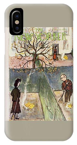 New Yorker October 20 1951 IPhone Case