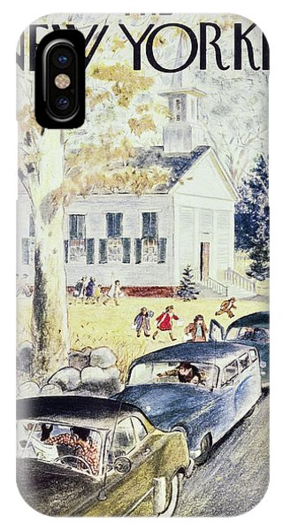 New Yorker October 26th 1957 IPhone Case