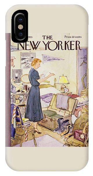 New Yorker September 10 1955 IPhone Case