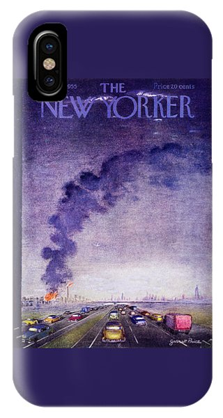 New Yorker September 17 1955 IPhone Case