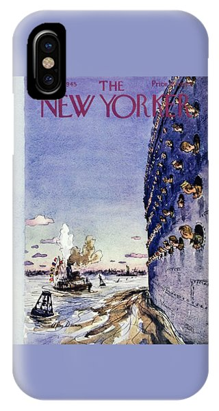 New Yorker September 8 1945 IPhone Case