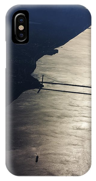 New York's East River Phone Case by Carl Purcell