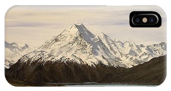 New Zealand Lake IPhone Case