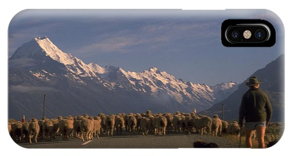 New Zealand Mt Cook IPhone Case