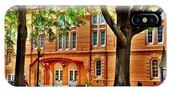 IPhone Case featuring the photograph Newberry Opera House Newberry Sc by Lisa Wooten