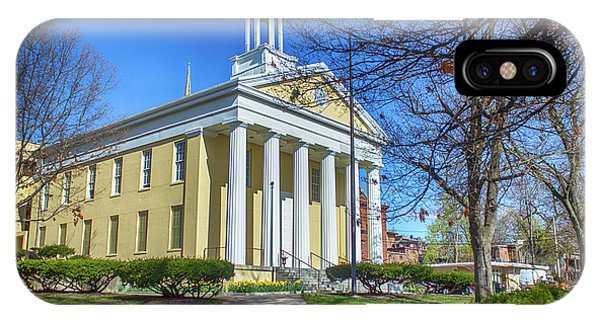 Newburgh Courthouse On Grand Street 1 IPhone Case