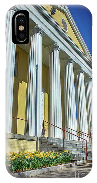 Newburgh Courthouse On Grand Street 2 IPhone Case