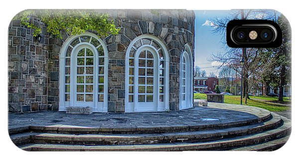 Newburgh Downing Park Shelter House Side View IPhone Case