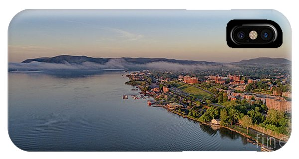 Newburgh Waterfront At Sunrise IPhone Case