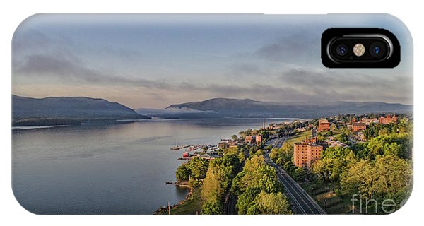 Newburgh Waterfront Looking South IPhone Case
