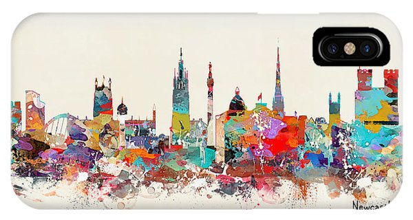 England iPhone Case - Newcastle England by Bri Buckley