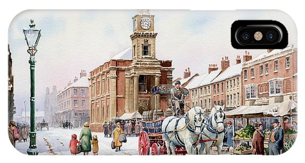 iPhone Case - Newcastle Staffordshire by Anthony Forster