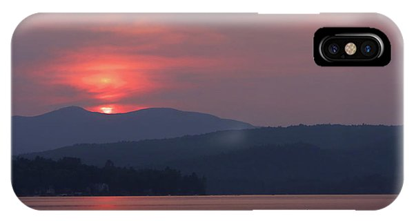 Ripples iPhone Case - Newfound Lake, Nh by Jerry LoFaro