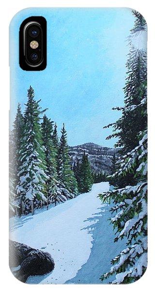 Newfoundland In Labrador II IPhone Case
